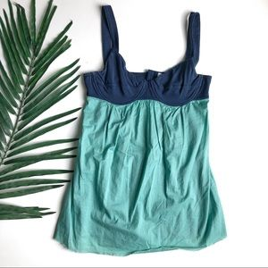 RVCA UNDER WIRE BABY DOLL TANK TOP